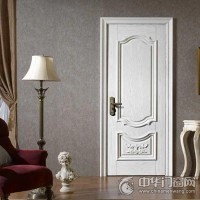 梦天木门 红橡仿古白木门 经典欧式 室内门8A11