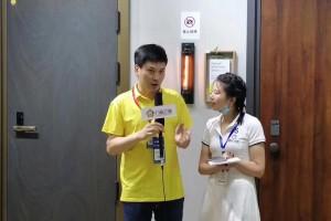 【广州展】德盾安全门孙殿全:以严格的选材和领先的技术,致力于安全门制造