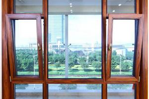 别墅豪宅的标配,铝包木门窗是也