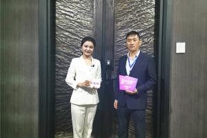 【成都建博会】凯达名门邓洪:聚焦产品革新,加快品牌建设